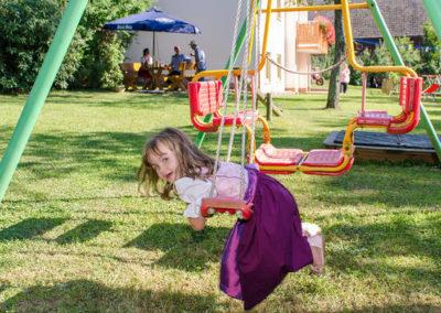 Ferienwohnung Thiem Kind Spielplatz