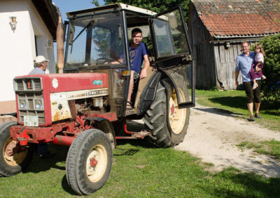 Ferienwohnung Thiem Traktor Landleben
